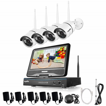 kit vigilancia sannce comprar barato