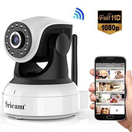 comprar camara vigilancia sricam ip 1080p precio barato online