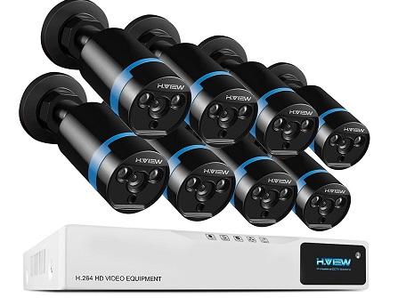 comprar kit camaras vigilancia h view