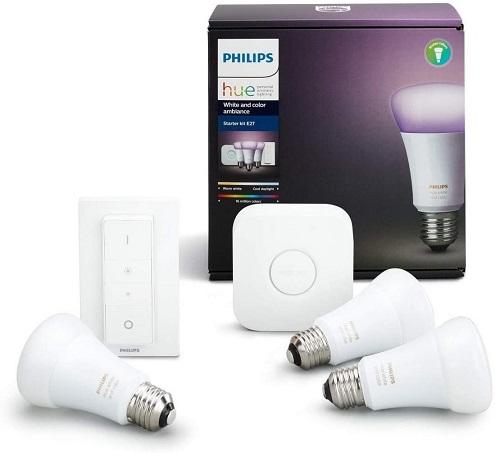 comprar bombillas inteligentes philips hue precio barato online