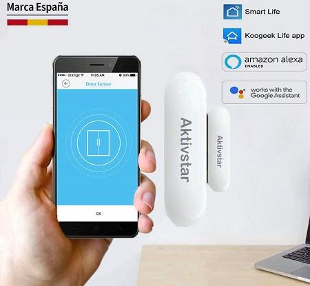 comprar aktivstar sensor puerta inteligente precio barato online